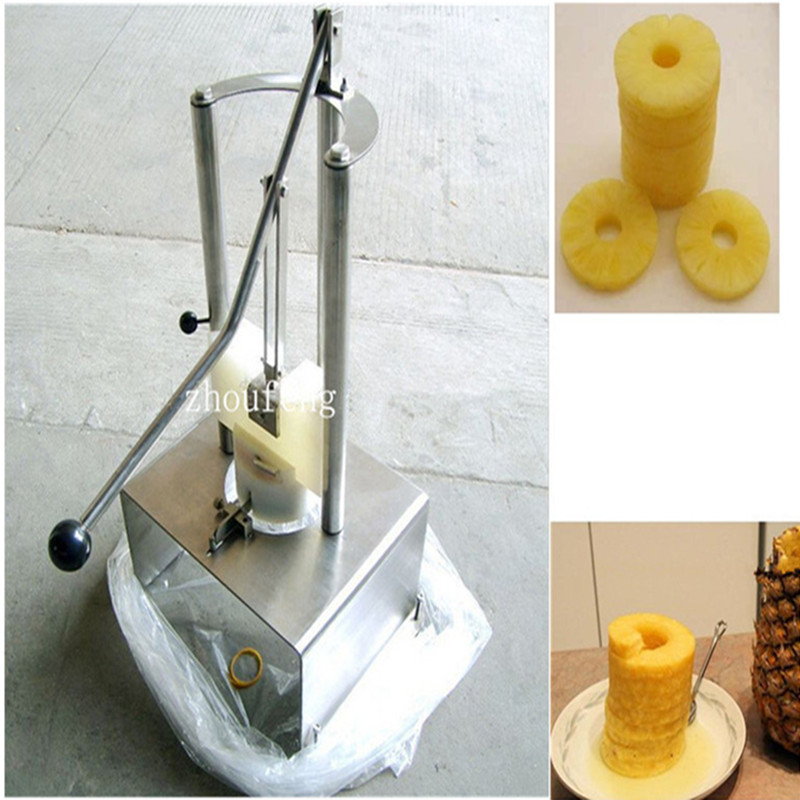 Fresh pineapple peeling core removing machine ZF dynamite baits xl pineapple