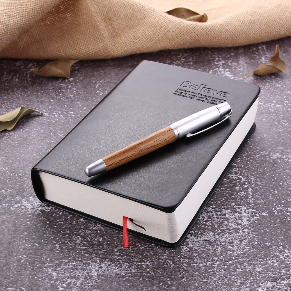 Leather Bible Diary Book Zakka Journals Bible Thickened Notebook School Office Stationery
