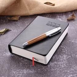 Кожаная Библия дневник Книга Zakka журналы Библия утолщенная тетрадь школьные канцелярские принадлежности