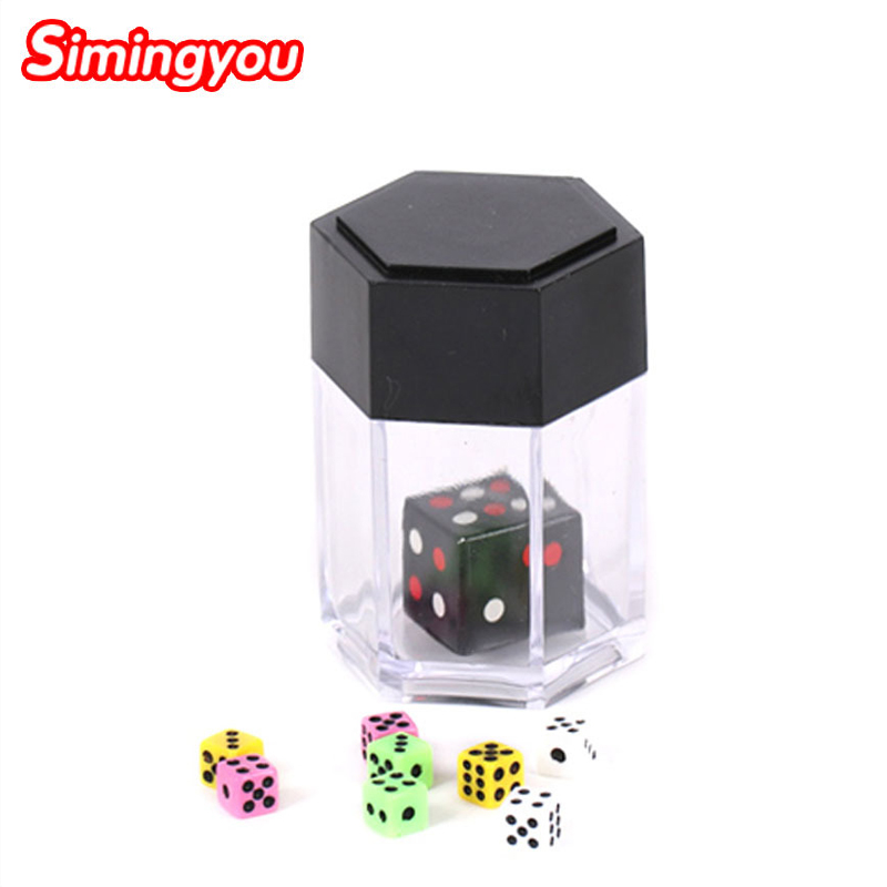 Simingyou Trick Toys Big Explode Explosion Dice Close Up Magic Trick Joke Prank Toy Children Kids Gift D10 Drop Shipping