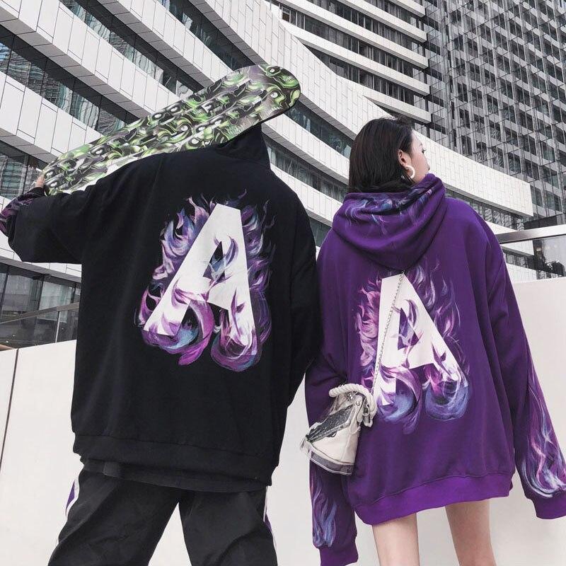 Drop Shipping Hong Kong Street A Hoodies Oversize Hip-hop Style Swag Tyga Hoodie Autumn Hoodies hoodie
