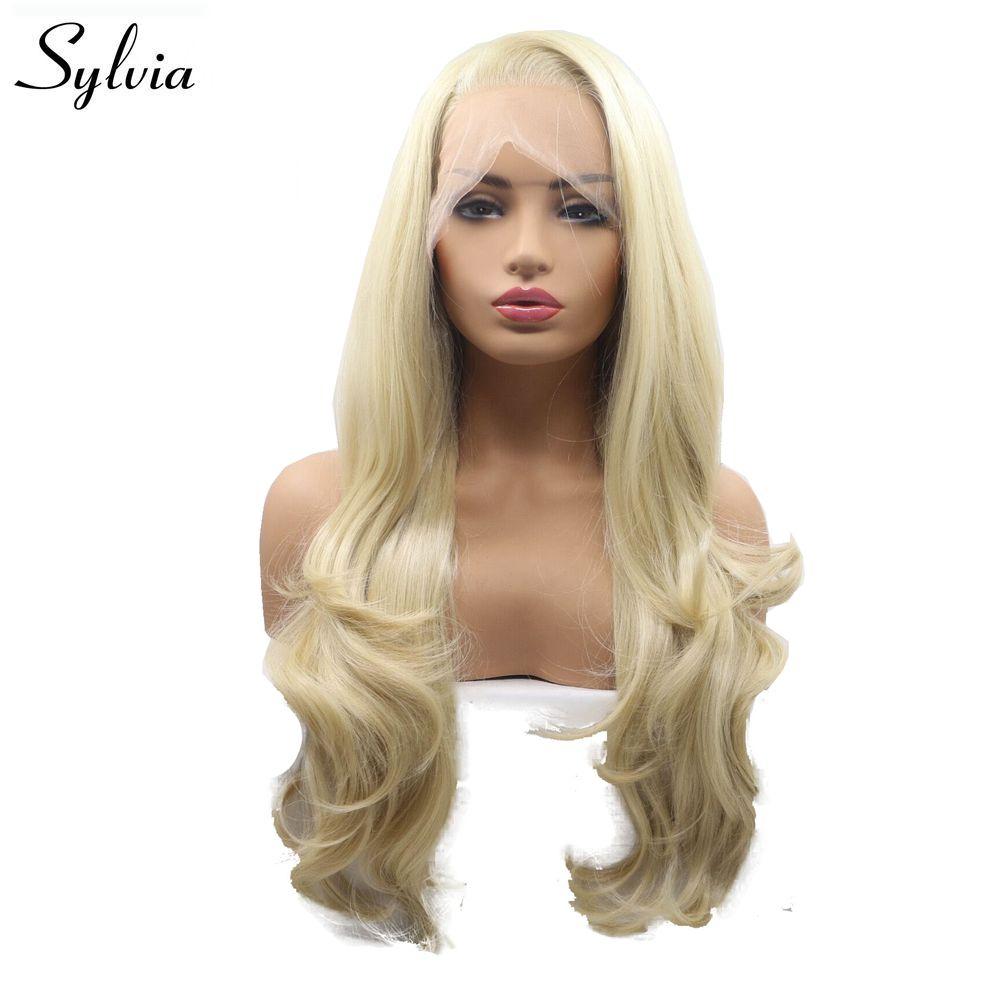 US $78.71 18% OFF|Sylvia Blonde Wigs 613