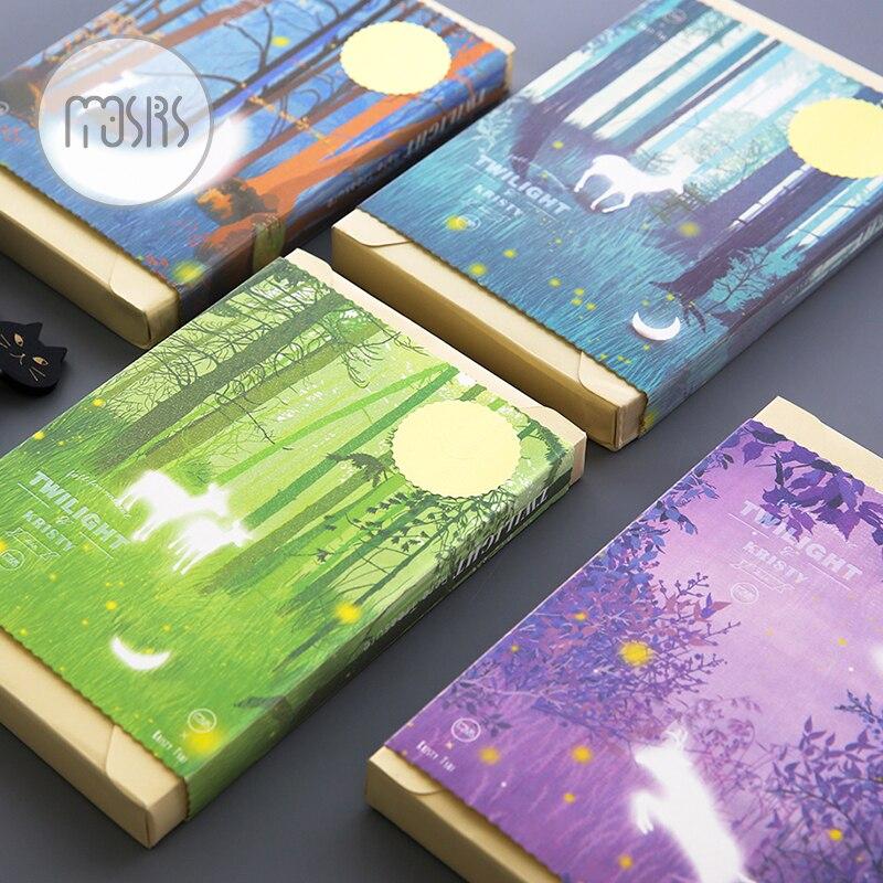 Gift Blank Sketchbook Diary Drawing graffiti Luminous Sketchs