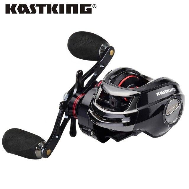 Рыболовная катушка капли воды Kastking с отношением скорости оборотов 7: 1, управлением правой или левой рукой, подшипником из нержавейки 12, двойной магнитной тормозной системой. Бесплатная перевозка