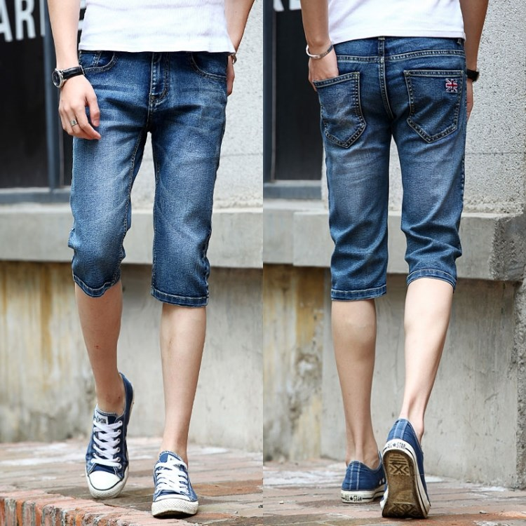Online Get Cheap Jeans Capri Men -Aliexpress.com | Alibaba Group