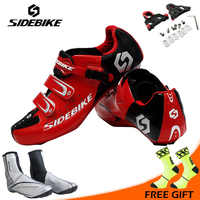 Sidebike Men Outdoor Cycling Shoes Road Bicycle Shoes Ultralight Self-locking Cycling Bike Shoes Sneakers Sapatos de ciclismo