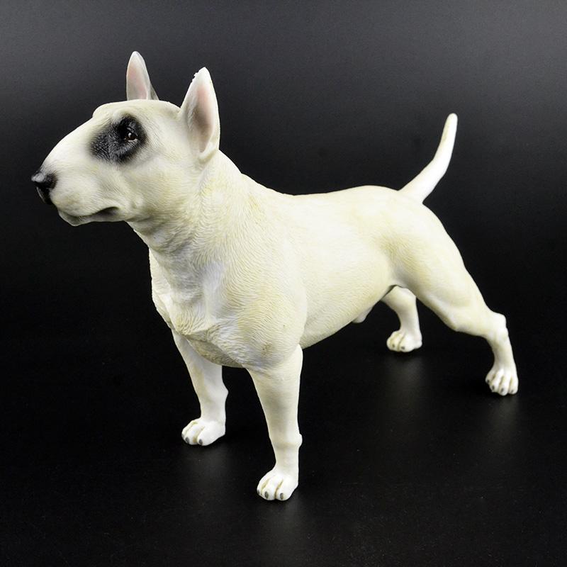 1 6 Hewan Ternak Hewan Peliharaan Anjing Penjaga Figurine Lucu 22 Cm Besar Bahasa Inggris Bull Terrier Angka Model Anak Anak Mainan Koleksi Hadiah Aksi Toy Angka Aliexpress