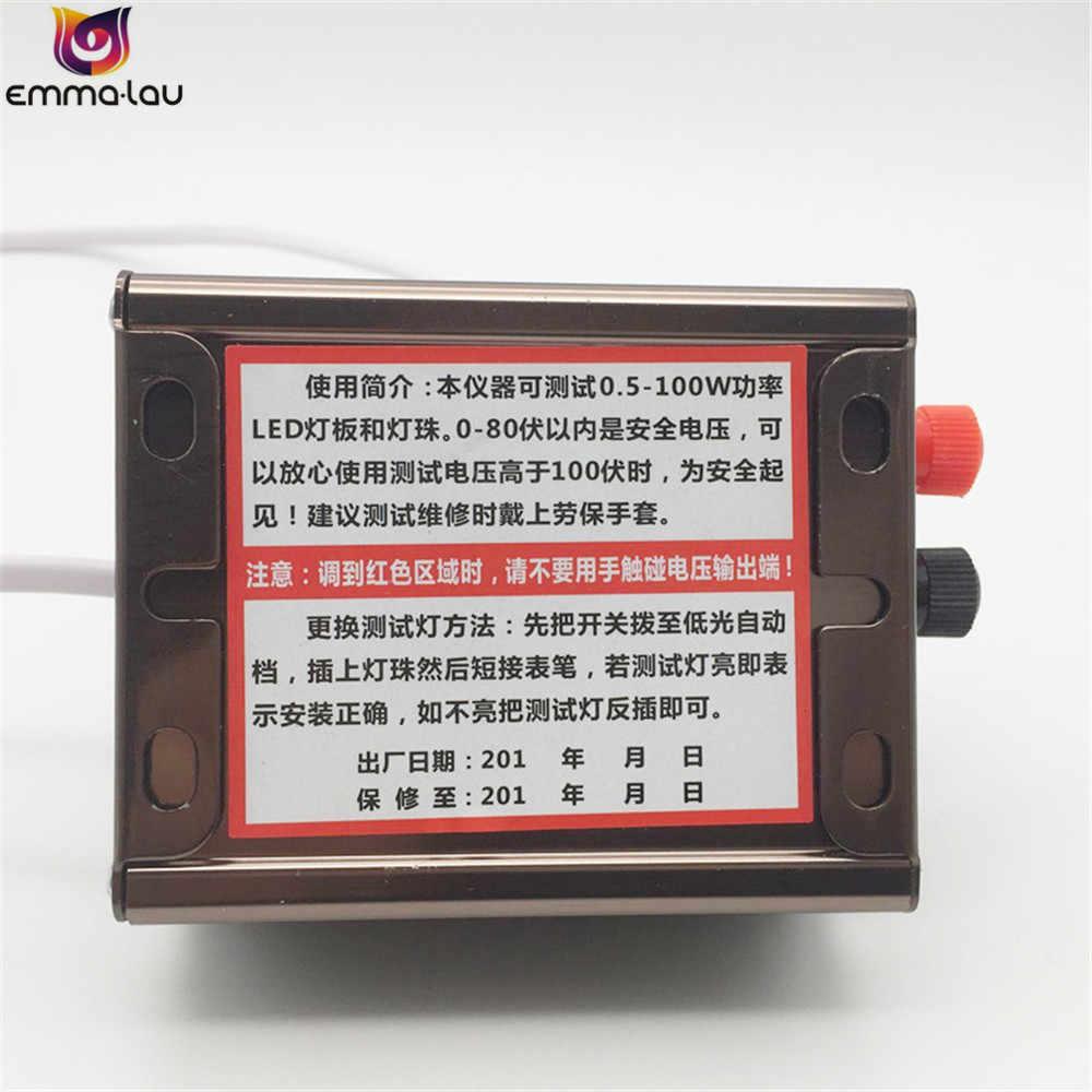 Новый регулируемый ток напряжения светодиодный тестовый прибор для подсветки светодиодный светильник с бусинами ТВ ПОДСВЕТКА Инструменты для ремонта с тестовым зондом