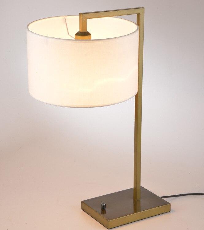 YOOK 25*60 см отель Утюг настольная лампа американский страна Творческий Настольная лампа Гостиная Спальня Кабинет Настольная лампа 220 В 27E