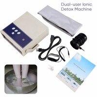 Foot Bath Spa Cleanser Body Detox Machine Ion Array Footbath Spa Cleanse Ionic Body Detoxification Massage Therapy + Waist Belt