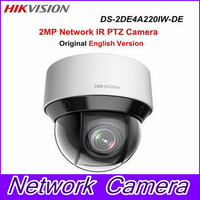 In Stock Free Shipping English Version DS 2DE4A220IW DE 2MP Network IR Mini PTZ Camera 3D