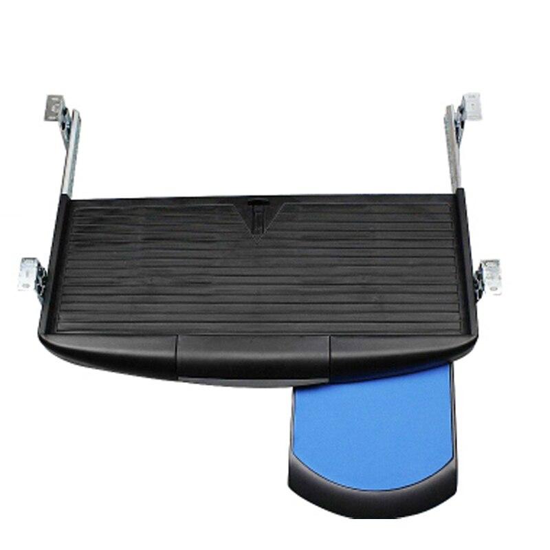 Wandplank Met Lade Zwart.Zwart Toetsenbord Lade Computer Toetsenbord Plank Rack Rails