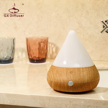 GX.Diffuser 150ml GX-B05 LED Changing Light Essential Oil USB Aroma Diffuser Ultrasonic Air Humidifier Mist Maker Aromatherapy