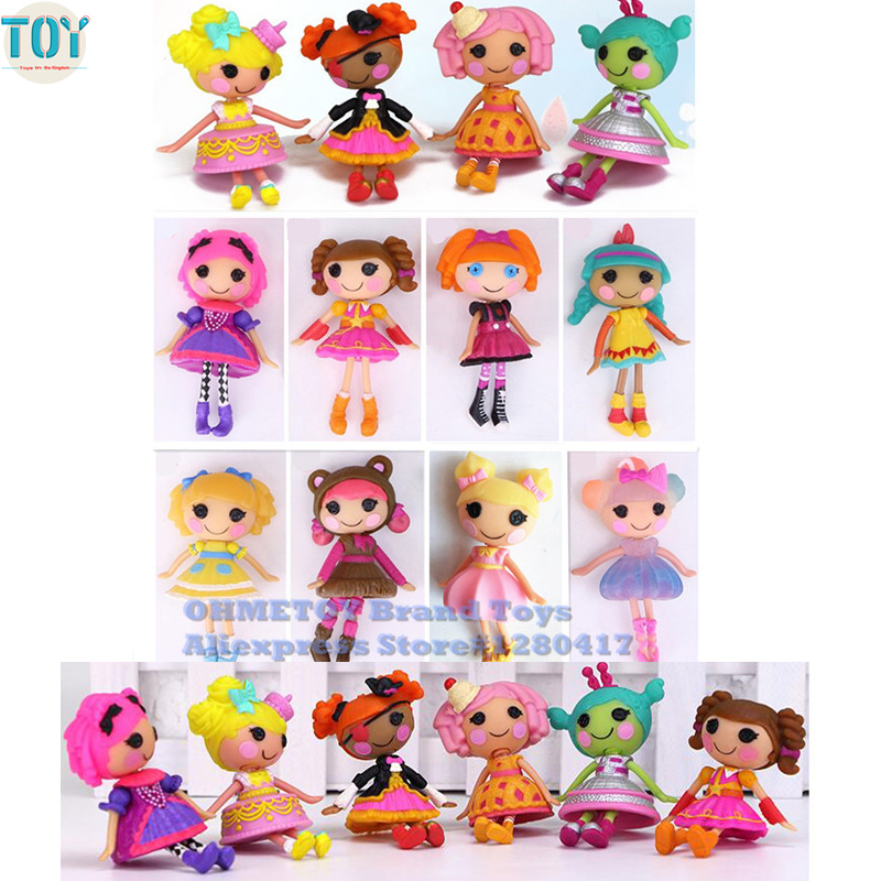 Sensational Ohmetoy Lalaloopsy Mini Figures Kawaii Toy Bonecas Cake Toppers Personalised Birthday Cards Rectzonderlifede
