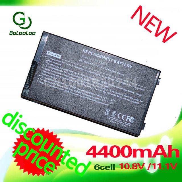 Golooloo 4400mAh Battery for Asus A32-F80 F80 F80Cr F80s F81 F81E F81Se F83 F83Cr F83E F83S F83Se F83V F83T F83VD F83VF K41 K41E
