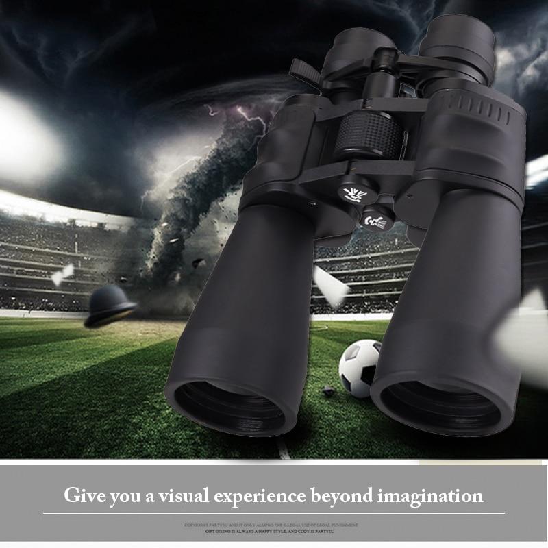 Ledarnell 10-30x60 Binoculars Objective Lens High Power HD Telescope Zoom Adjust Binoculars Light Vision Professional 8x zoom telescope lens back case for samsung i9100 black