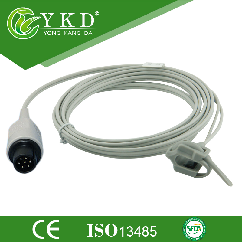 Free shipping Direct Resuable Neonate wrap SpO2 Sensor 3m 7pinFree shipping Direct Resuable Neonate wrap SpO2 Sensor 3m 7pin