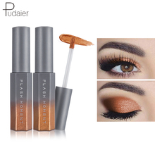 ФОТО pudaier eye shadow cosmetics shiny diamond liquid  8 colors long lasting luminous shimmer liquid eyeshadow eye makeup