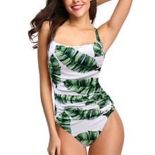 Women Swimwear New One Piece Swimsuit Push Up Vintage Retro Bathing Suits Swimming Suit for Beach Wear Plus Size Swimwear S-2XL one piece swimsuit plus size swimwear women beach wear bathing suit swim sexy push up for women swimming suit beach wear