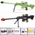 Cm contínua-nerf arma de brinquedo macio bala arma bala rifle sniper para crianças meninos pode ser montado ou desinstalar