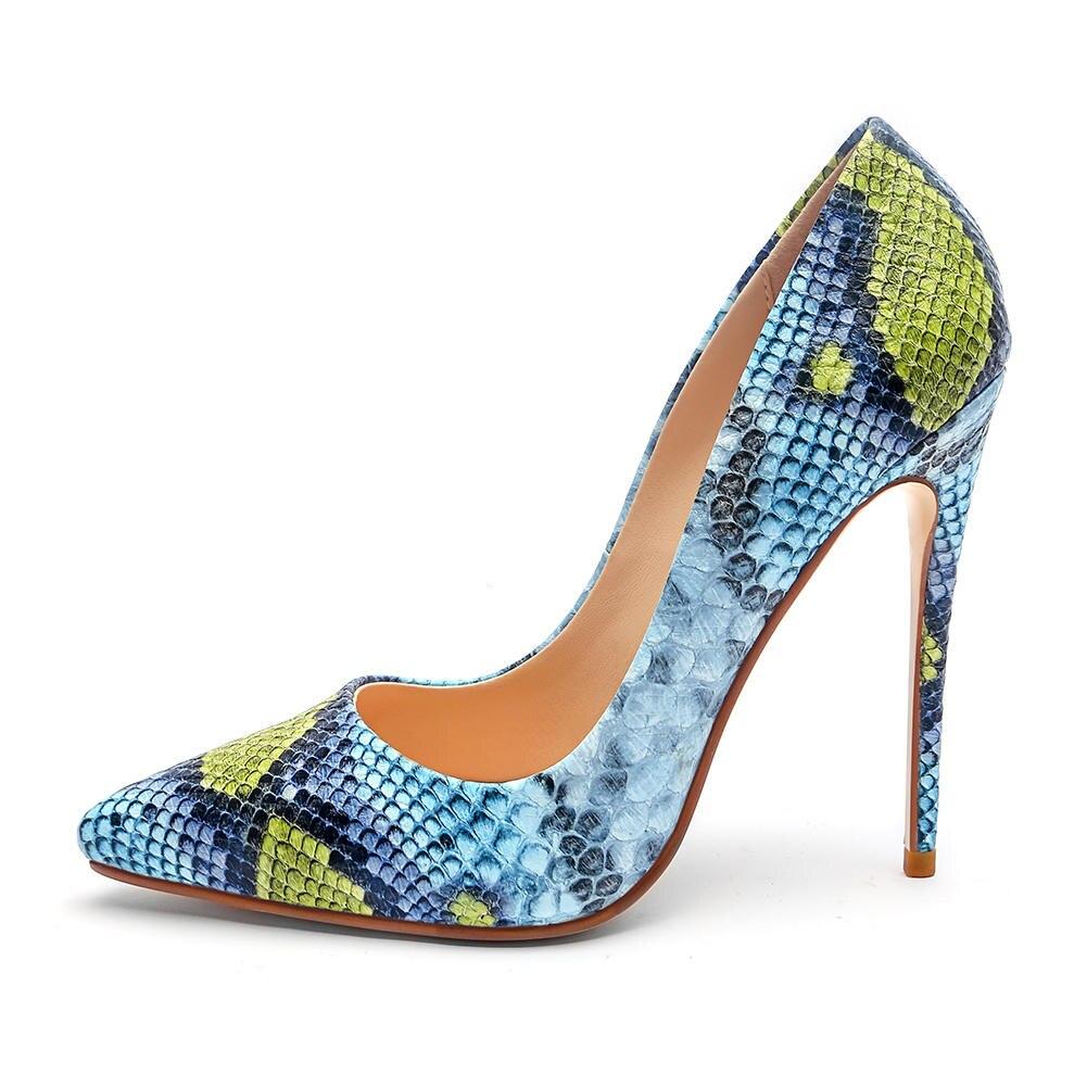 Dedo Bombas Zapatos Otoño Puntiagudo Colores Tacones 33 Tamaño Sarairis  rosado 45 Azul Nuevo amarillo Mujer Mezclados 12 Primavera Casual ... e8cc4961fcf5