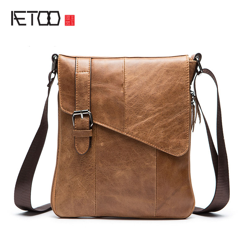 Ladies Vertical Personality Vertical Section Of The Oil Wax Leather Backpack First Layer Of Leather Large Capacity Leisure Backp Luggage & Bags