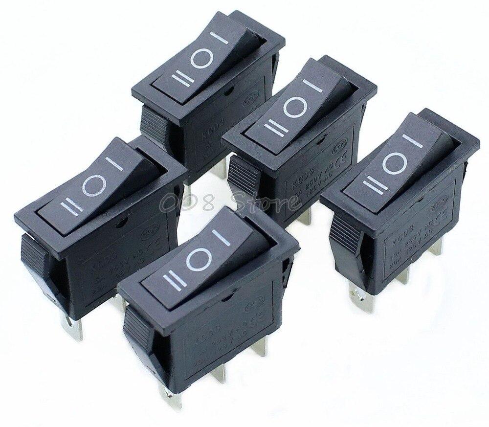 5-pcs-x-ac-15a-250v-20a-125v-3-pin-spdt-kcd3-on-off-on-3-position-black-boat-rocker-switch