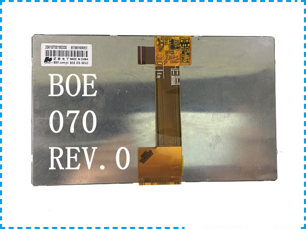 Original new BOE 070 REV.0 7'' inch LCD screen to move the flat screen