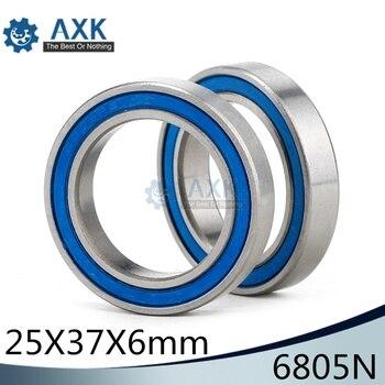 6805N Hybrid Ceramic Bearing 25x37x6mm ( 1 PC) Bicycle BB51 Bottom Hub 6805-RD 6805N-RS 25376 RS Si3N4 Ball Bearings 6805N-2RS 17287 hybrid ceramic bearing 17x28x7 mm abec 1 1 pc bicycle bottom brackets