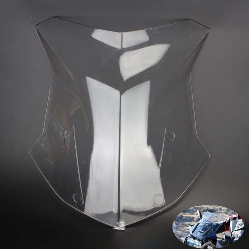 Motorcycle High Quality ABS Clear Windshield Windscreen For BMW R1200GS R 1200 GS 2013 2014 2015 2016 2017-in Windscreens & Wind Deflectors from Automobiles & Motorcycles    1