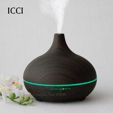 icci Humidifier Aroma diffuser Essential oil diffuser Aroma fragrance oils Capacity 300ml Aroma led lamp Cucurbit shape