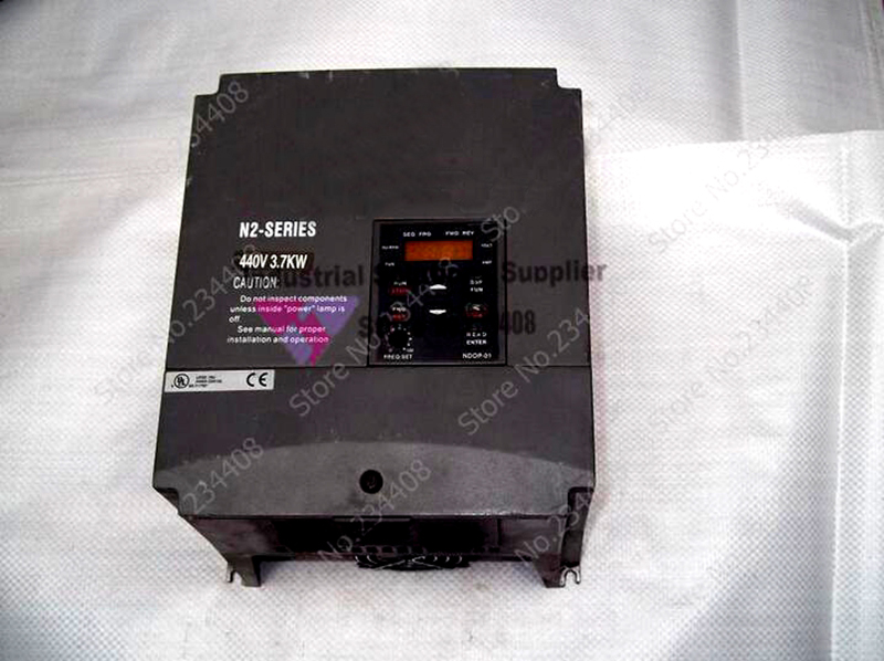 Input 3Ph 380V Output 3 Ph Frequency Converter N2 N2-405-H3 Series Three Phase General 380~480V 8.8A 3.7KW 5HP 0.1~400Hz New three phase general frequency converter 2 2kw 380v three phase motor warranty 18 delta