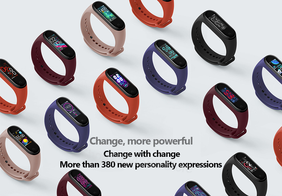 Xiaomi Mi Band 4 Smart Watch Standard Version Heart Rate Activity Fitness Tracker Smart Band Bracelet Colorful Display 2019 New (15)