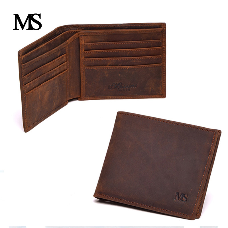 Genuine Crazy Horse Cowhide Leather Men Wallet Short Coin Purse Small Vintage Wallet Brand High Quality Vintage Designer TW1668 кроссовки asics кроссовки gel venture 5 gs