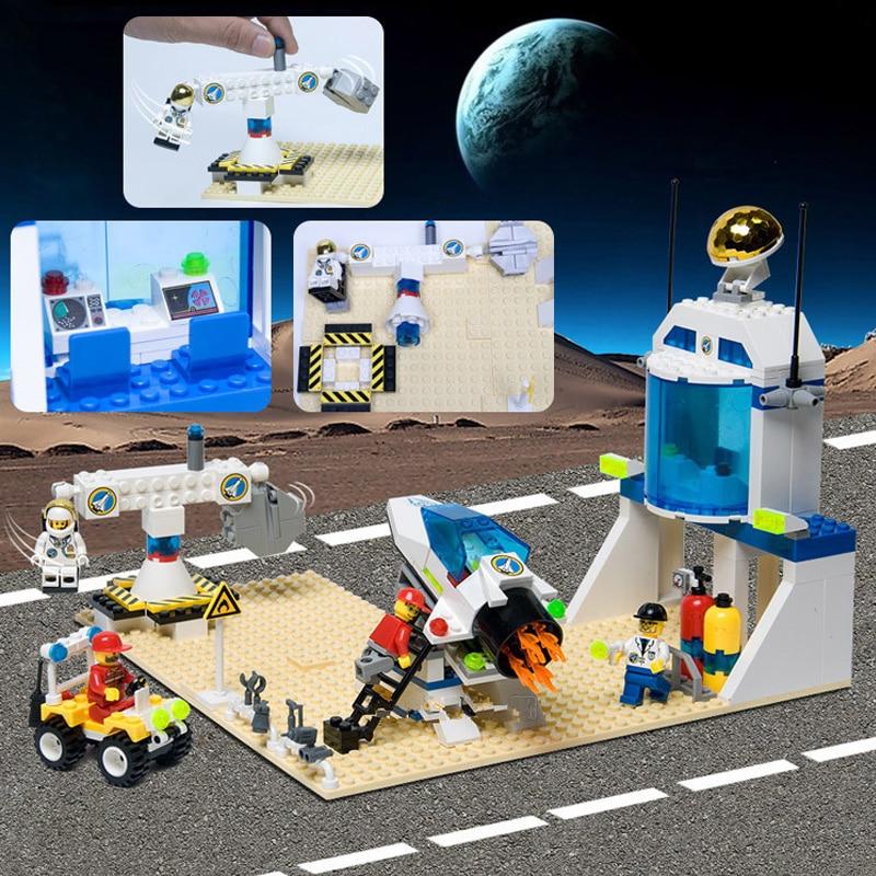 Enlighten 292Pcs International Space Station Astronaut Assembling Building Blocks Set Figures Compatible With Legoe