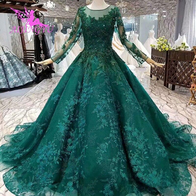 574dfcd78c4 AIJINGYU Роскошные свадебные бальные платья Интернет-магазин Китай купить  Германия Isreal Sequin платья Бабочка свадебное