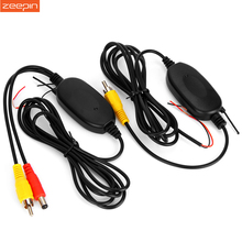 2.4G Wireless Car Transmitter Receiver Kit for Car DVD Monitor Rear View Camera Reverse Backup Rearview Camera RCA Connection