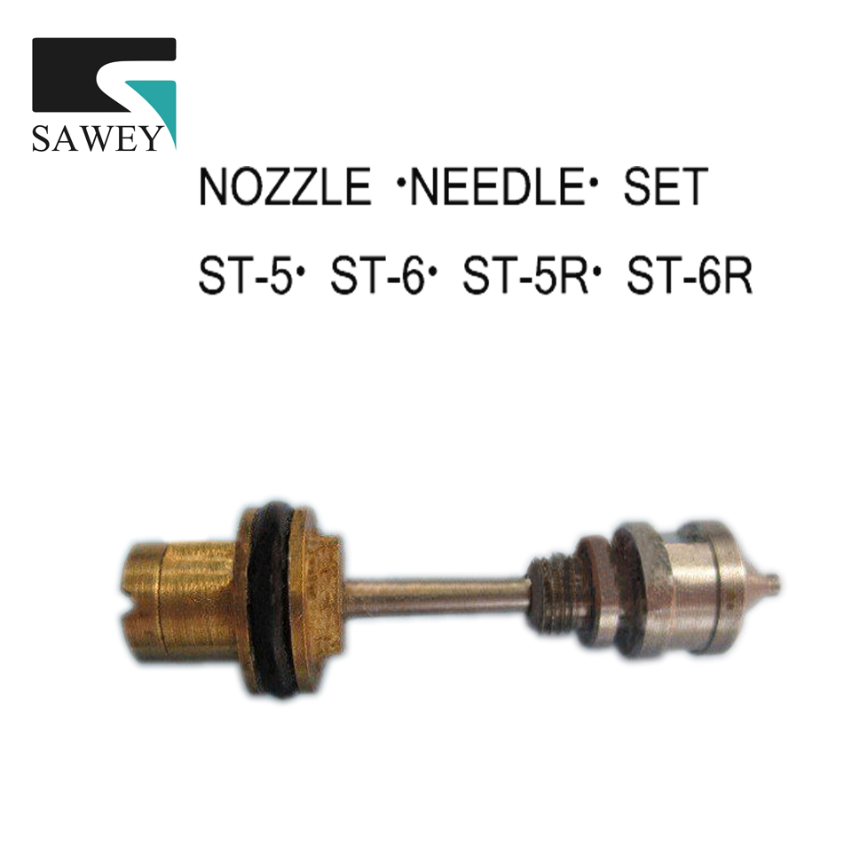цена на NOZZLE NEEDLE SET for ST-5/ST-6/ST-5R/ST-6R auto spray gun accessories, 0.5 / 1.0 / 1.3 / 2.0mm,FREE SHIPPING