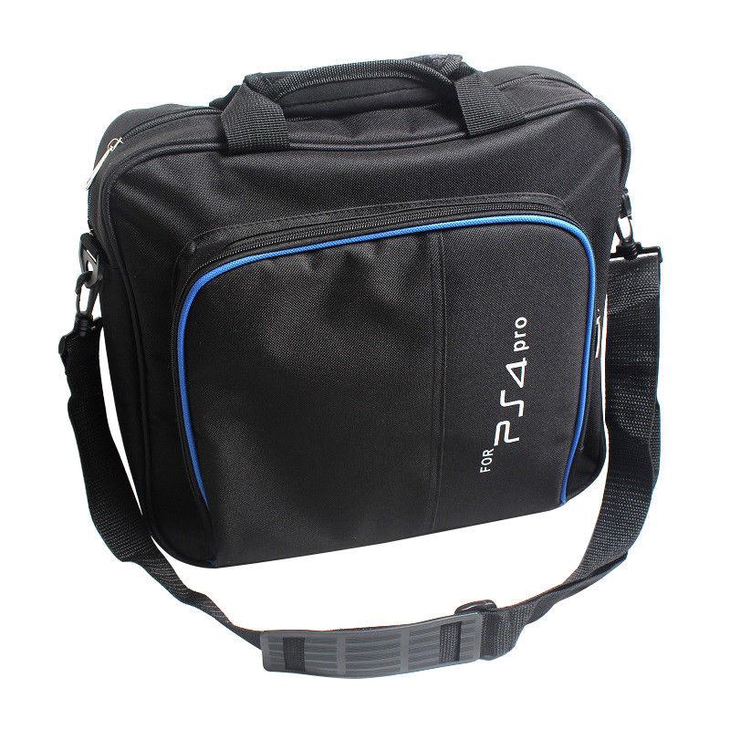 Multi-fungsi PS4 Pro Permainan Sistem Tas Penyimpanan Perjalanan Membawa Kasus Tas Bahu untuk PS4 Pro Playstation 4 Pro Controller ...