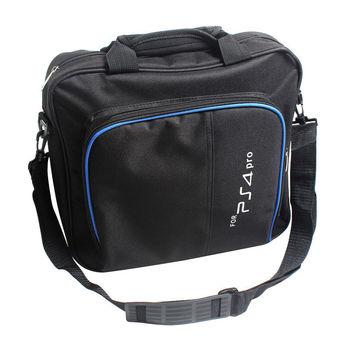 Multi-fonction PS4 Pro système de jeu voyage stockage étui de transport pochette sac à bandoulière pour PS4 Pro Playstation 4 Pro Console contrôleur
