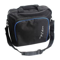 Multi-función PS4 Pro sistema de juegos Almacenamiento de viaje bolsa de hombro bolsa para PS4 Pro Playstation 4 Pro controlador de consola