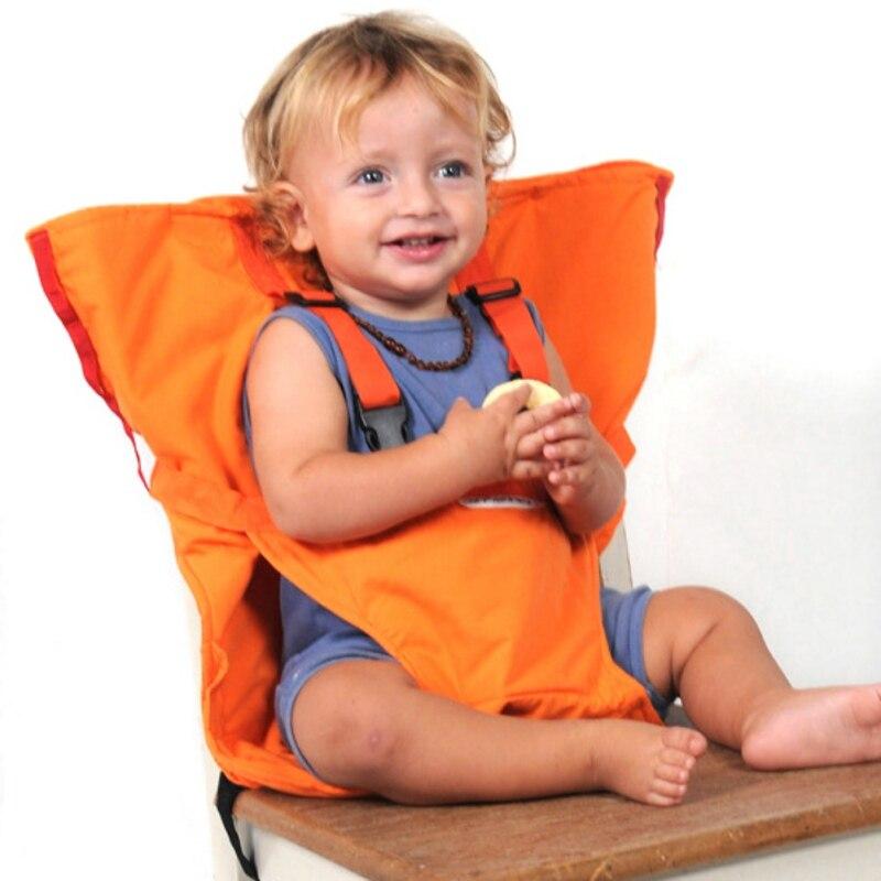 Baby Sicherheit Sitz Tragbare Baby Dining Mittagessen Stuhl Sitz Gürtel Fütterung Hohe Stuhl Fütterung Hohe Stuhl Harness Baby stuhl sitz