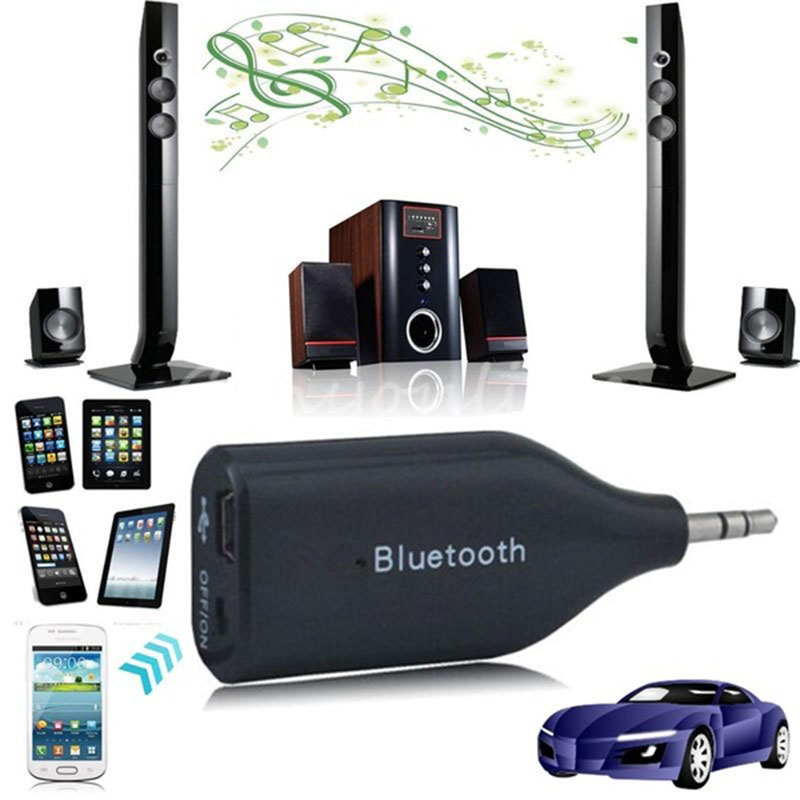 Mini USB Bluetooth Wireless Car Kit AUX Receptor Adaptador de 3.5mm - Electrónica del Automóvil