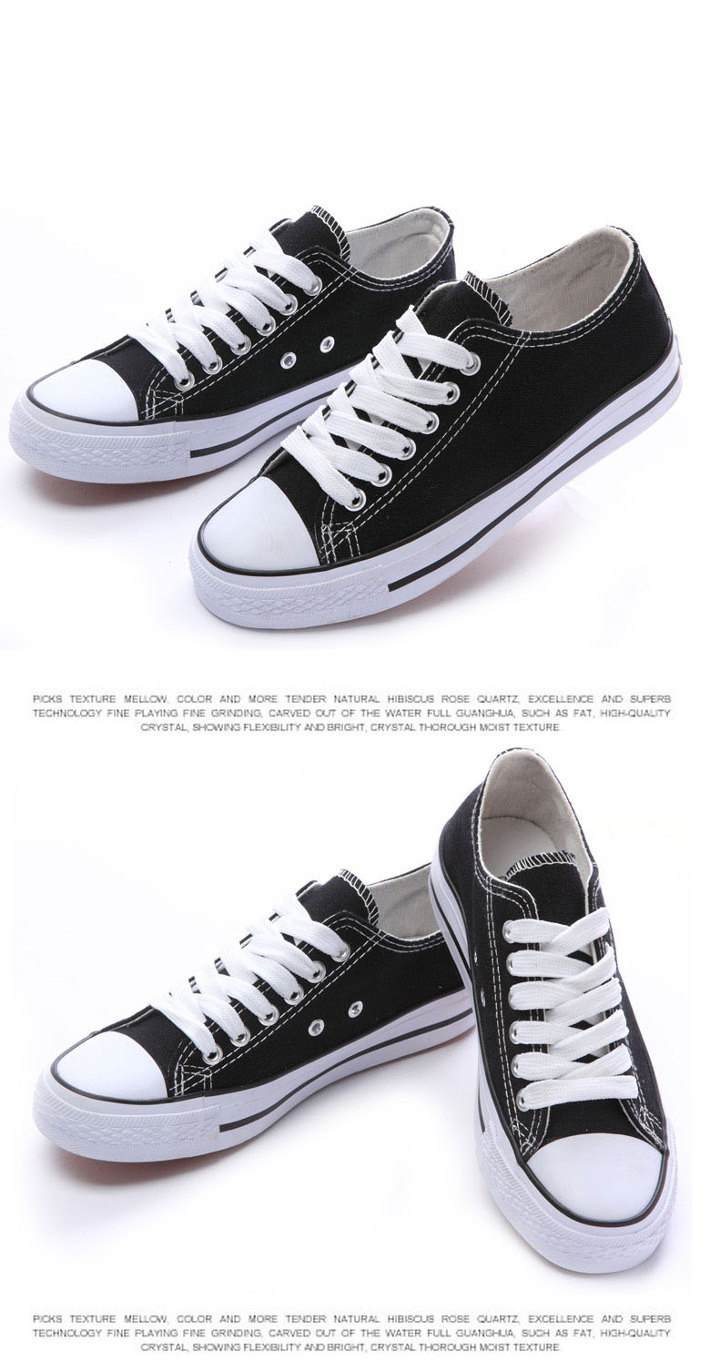641c18b648 New canvas shoes low & high style star classic Canvas Shoes,Lace up ...