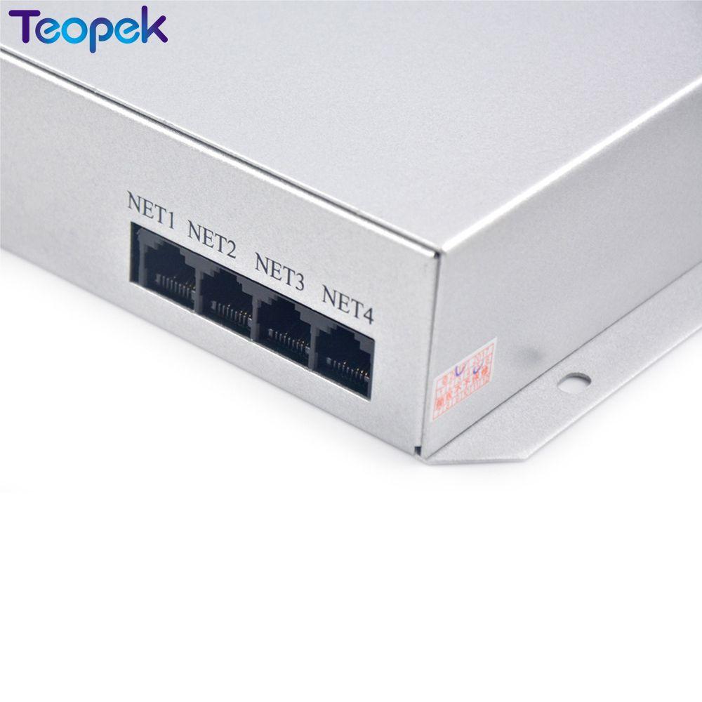 T-300K T300K carte SD en ligne VIA PC contrôleur de module de pixels led couleur rvb 8 ports 8192 pixels ws2811 ws2801 WS2812 6803 - 2