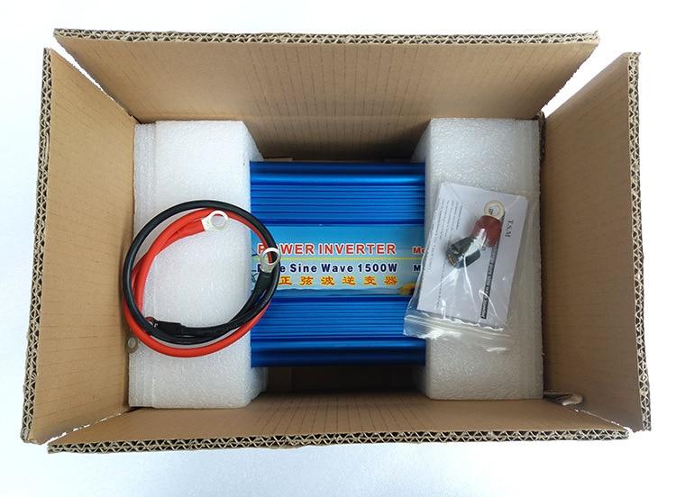 3000W Spitzen Reine Sinus Solar Power Inverter 24V zu 220V 1500W Wechselrichter Konverter Netzteil 12 V/24 V DC zu 120/230/240V AC