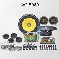 VC 608A высшего класса автомобильный компонент Колонки Пассивный 130 Вт 92db чувствительности