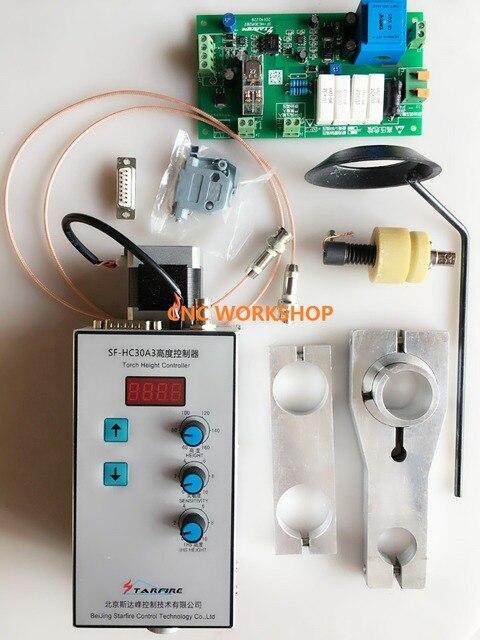 อัตโนมัติArcและหมวกCNCไฟฉายความสูงController (SF HC30A) สำหรับCNCเครื่องตัดพลาสม่าเครื่องและเปลวไฟเครื่องตัดTHC