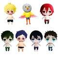 "HOT Anime Free Plush Q Ver. Nanase Haruka Soft Stuffed toy Cosplay Costume DIY toy puppet Doll Plush keychain 4.5""/5"" Brinquedos"