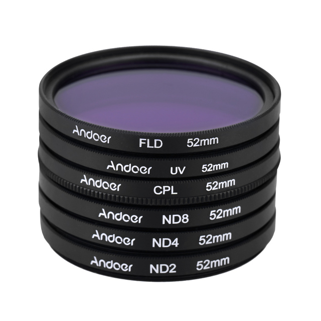 52 mm Neutral Filters Set